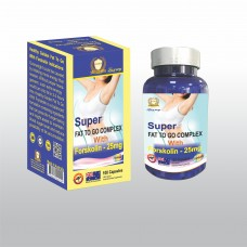Super Fat To Go Complex With Forskolin25mg - 100s